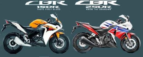 Honda CBR 150R vs CBR 250R ed