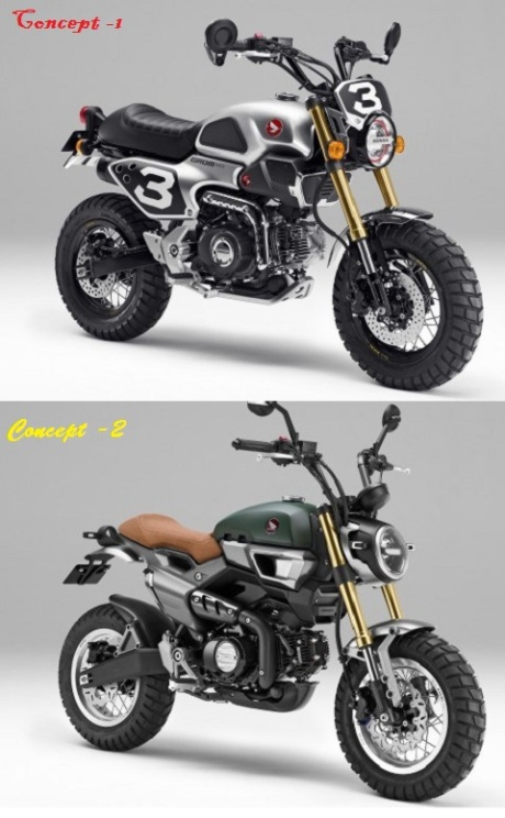 Honda Grom Concept Duos