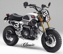Honda Grom Konsep - Classic