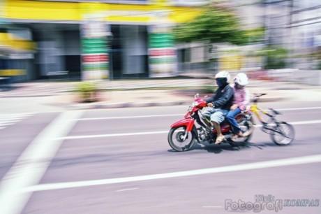 motor nuntun sepeda