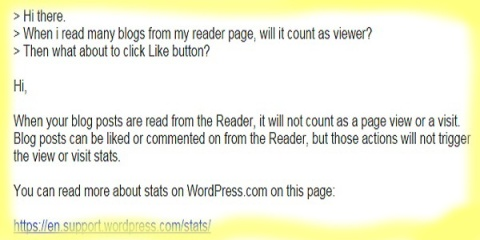 wordpress Baca & Like via reader