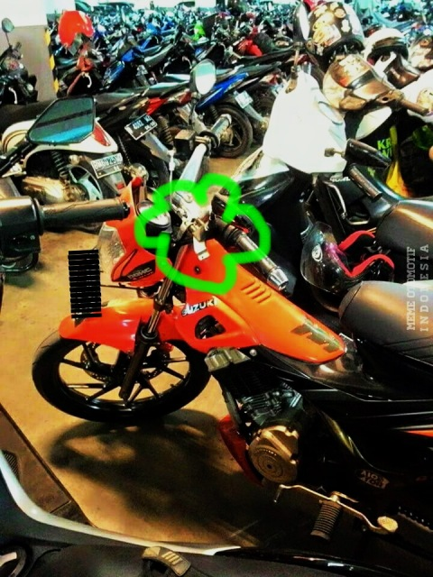 Satria FU tanpa handle kopling marked