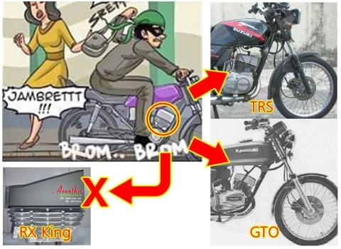 Motor Jambret RX King Jadi Jadian