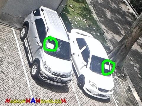 Parkir Sembarangan DI Kompleks UGM 01