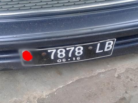 Plat Nomor 7878