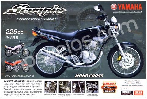 Yamaha Scorpio Gen-1
