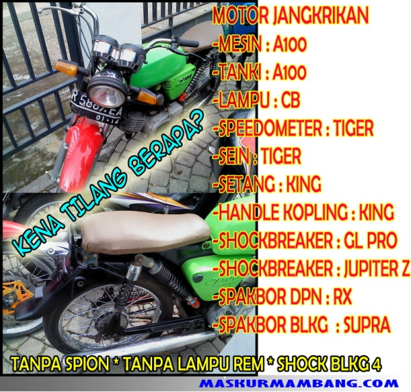 motor jangkrikan part 2