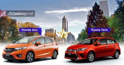 Comparison-Jazz-VS-Yaris