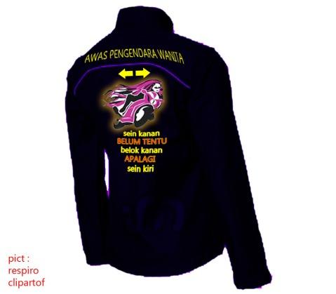 jaket wanita biker 2