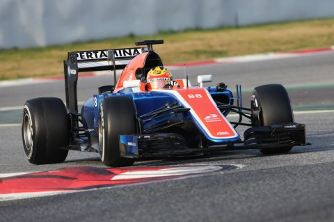 Rio Haryanto (IDN) Manor Racing MRT05. 25.02.2016. Formula One Testing, Day Four, Barcelona, Spain. Thursday.
