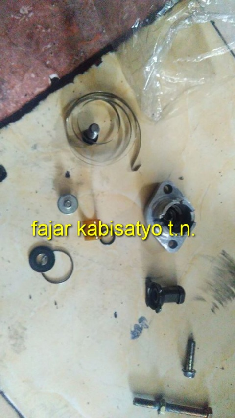 setiing tensioner New CB150R02