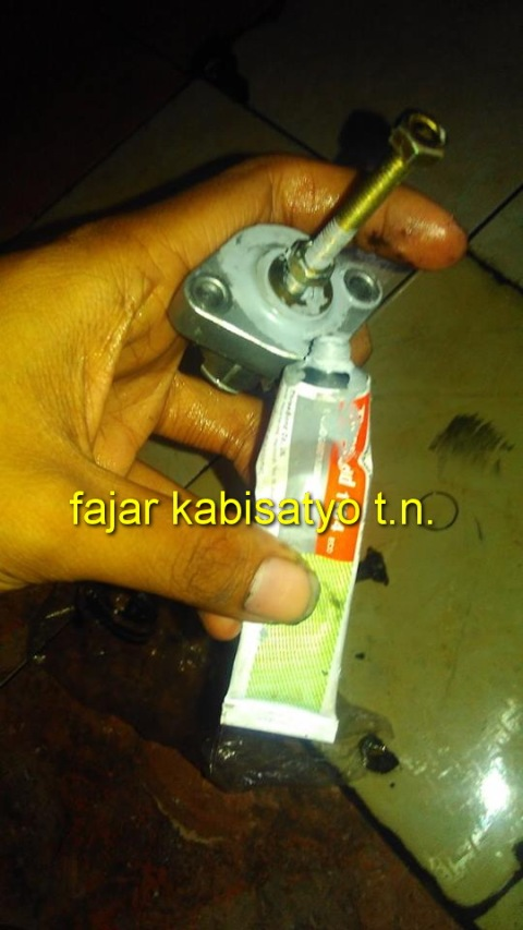 setiing tensioner New CB150R06