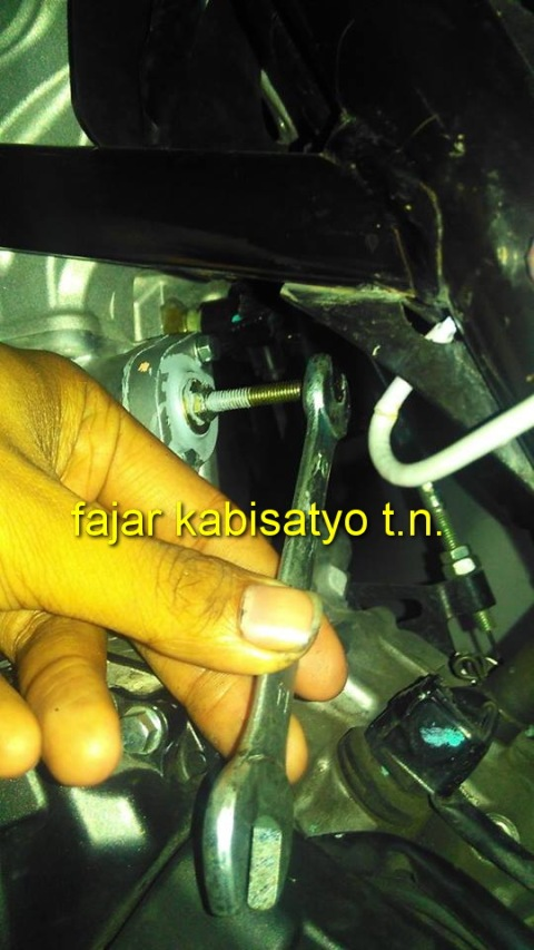 setiing tensioner New CB150R07
