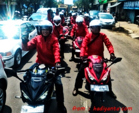 City Riding CBR150 2016 Purwokerto