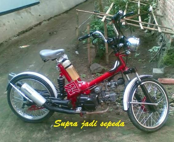 Modifikasi Motor Sepeda Ontel Blog Motor Keren