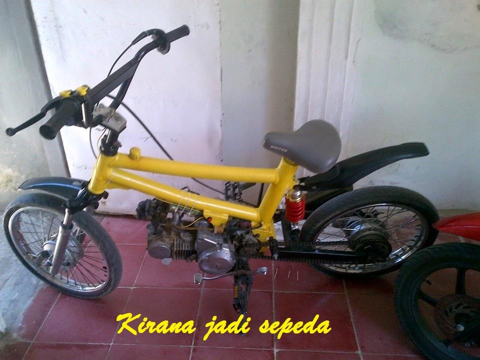 Retrograde, Motor Jadi Sepeda