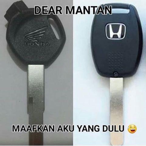 Meme MAntan, Honda